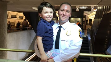 A 4-year-old with autism was having a 'meltdown' on the Metro. Then this officer stepped in to help
