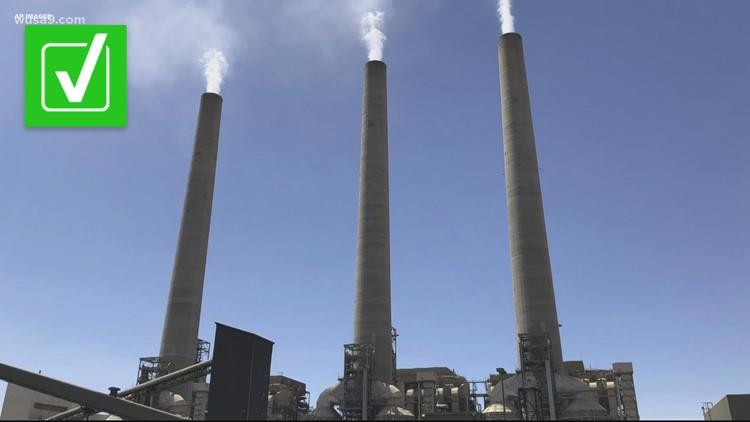 VERIFY: Coal energy creates more CO2 than natural gas