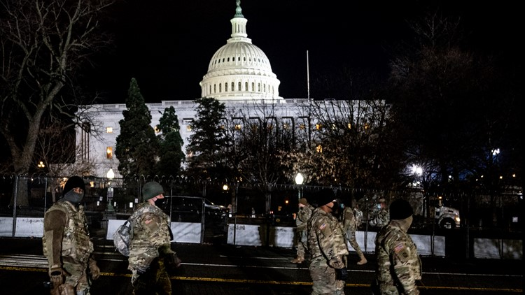 Michigan National Guard at US Capitol hospitalized after eating substandard food. Metal shavings, feathers found in meals