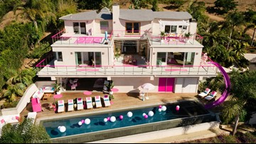 You can stay at a real-life Barbie Dreamhouse in Malibu through Airbnb