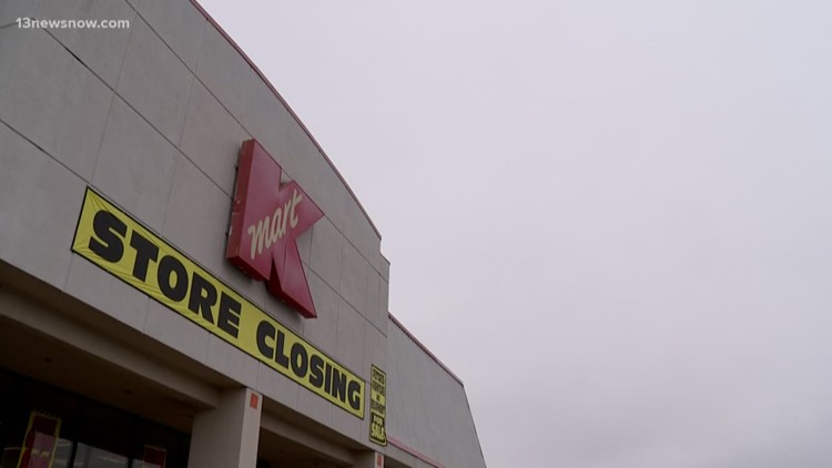 Kmart on South Military Highway in Chesapeake to close