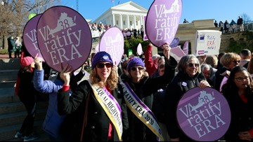 Virginia House of Delegates votes to ratify Equal Rights Amendment