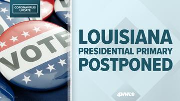 Louisiana presidential primary postponed to June due to coronavirus