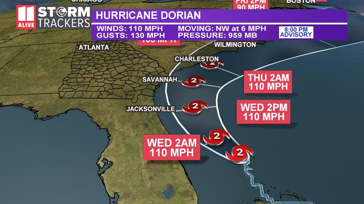 Hurricane Dorian right now | Latest updates on the deadly