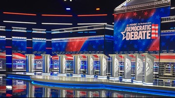 Democratic debate: 10 candidates set to face-off in Atlanta