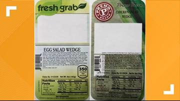 Michigan company recalls 10 varieties of sandwiches due to Listeria concerns