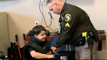 5-year-old named honorary Michigan county deputy sheriff dies after battling cancer