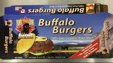 Bison burgers recalled after 21 people get sick from E. coli