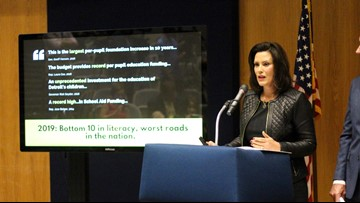 Spending vetoed by Whitmer may be revived if deal reached