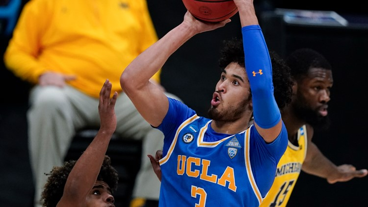 Juzang sends No. 11 seed UCLA past Michigan to Final Four