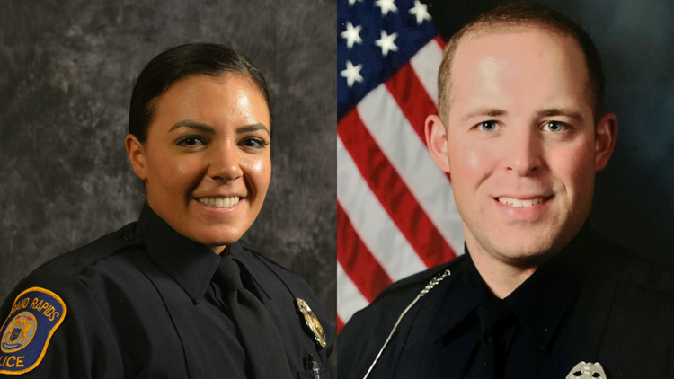 Michigan police officers' quick actions save a baby's life