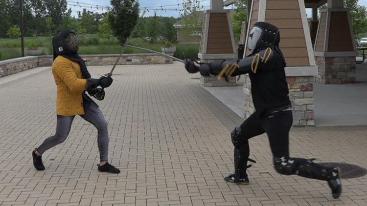 Medieval combat skills taught at Michigan 'sword school'