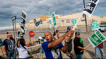 Day 2 of UAW strike: Still plenty of contract to negotiate