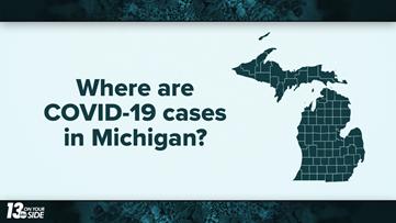 Map: Where are COVID-19 cases in Michigan?