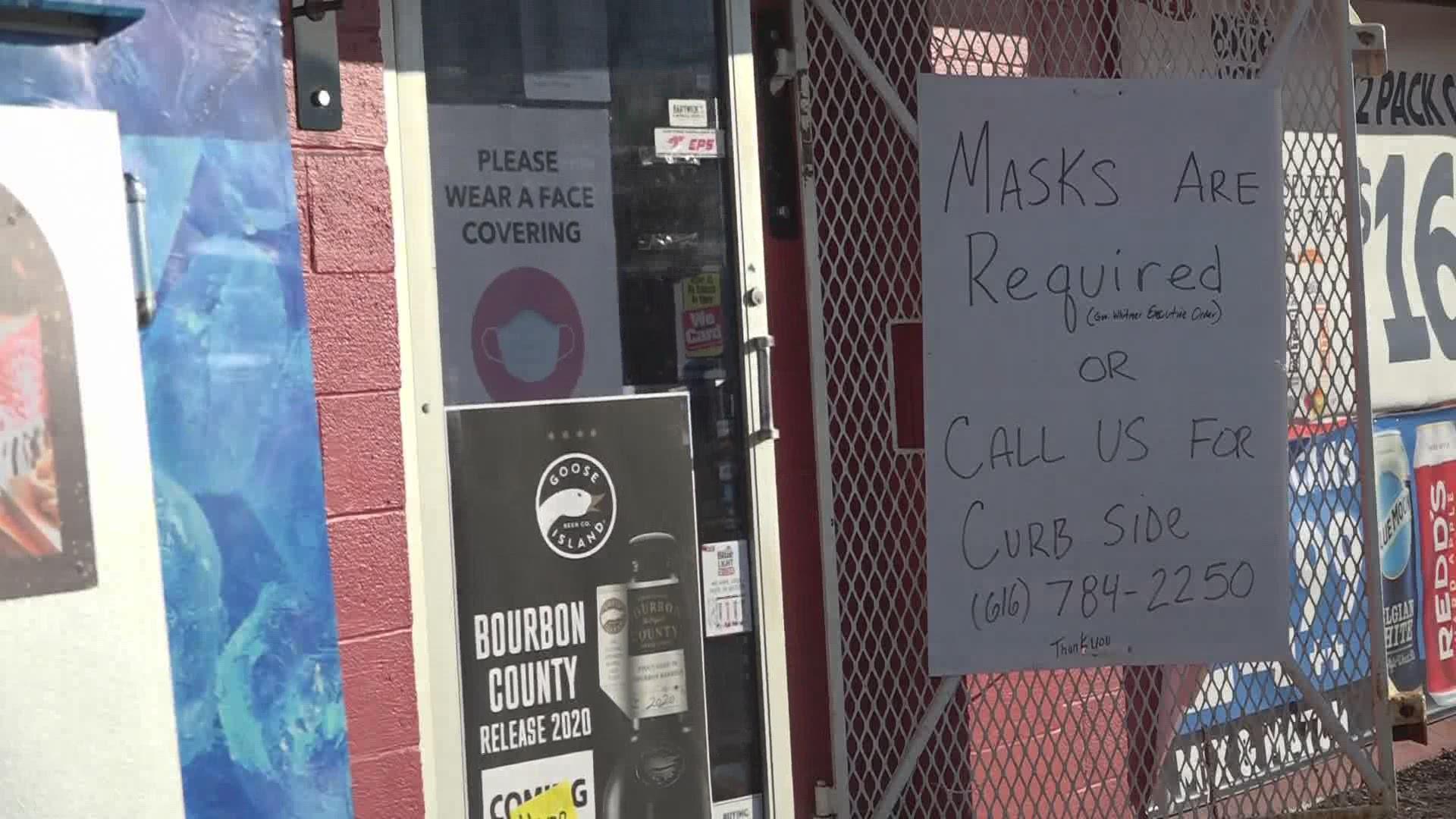 Liquor licenses suspended at 2 Michigan businesses for ...